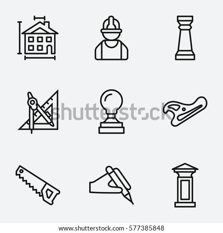 Architectural compass stock images royalty free images for Architecture icon