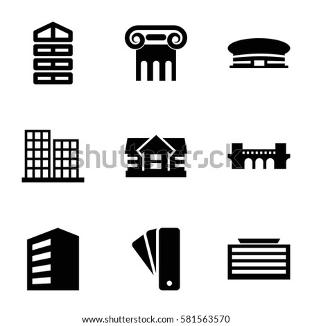 Street lamp icon illustration isolated vector stock vector for Architecture icon