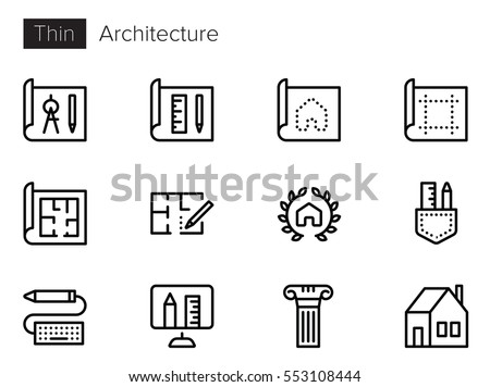 Architecture stock images royalty free images vectors for Architecture icon