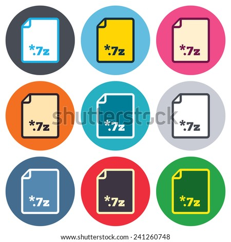 Graphics File Format Icons 18 Icons Stock Vector 7923403 ...