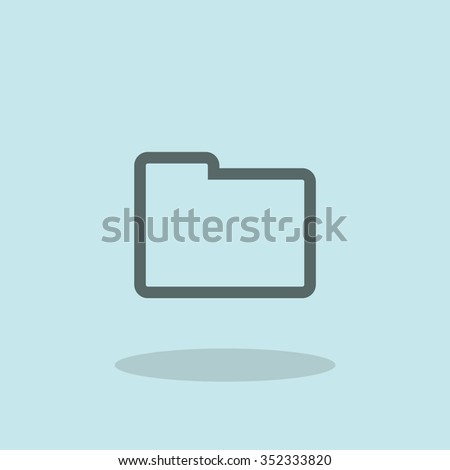 Archive sign - stock vector