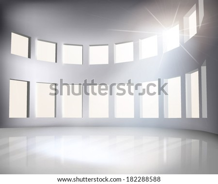 Arena. Vector illustration. - stock vector