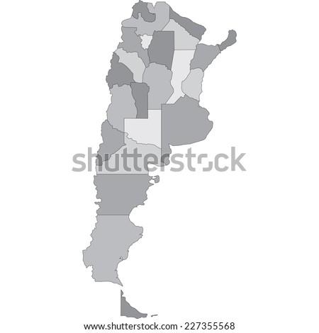 argentina - stock vector
