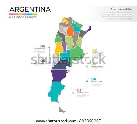 Argentina Region Map Stock Images RoyaltyFree Images Vectors - Argentina regions map