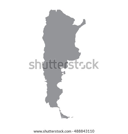 Argentina Map Stock Images RoyaltyFree Images Vectors - Argentina map black and white