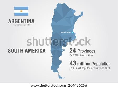 Argentina world map pattern pixel diamond vectores en stock argentina world map with a pattern of pixel diamond gumiabroncs Images
