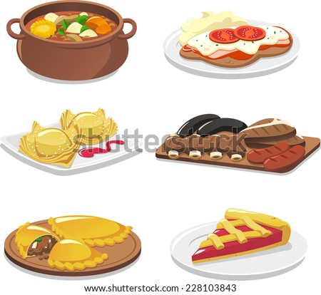 Empanada stock photos royalty free images vectors for Artistic argentinean cuisine