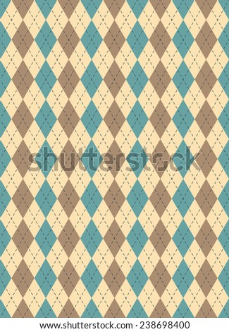 argyle seamless pattern.each color in separate layer.