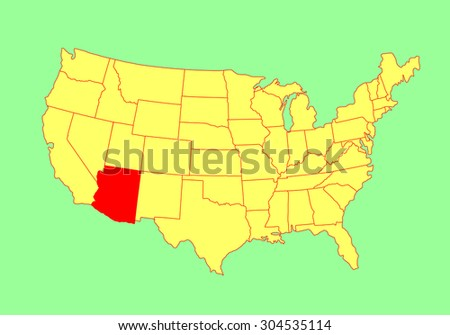 Louisiana State Usa Vector Map Isolated Stock Vector - Map of states in usa