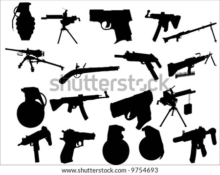 armament - stock vector