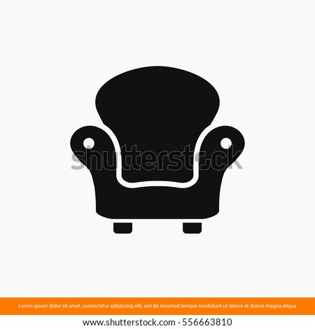 Furniture icon stock images royalty free images vectors for Design icon chairs