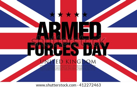 Armed Forces Day in the United Kingdom template banner