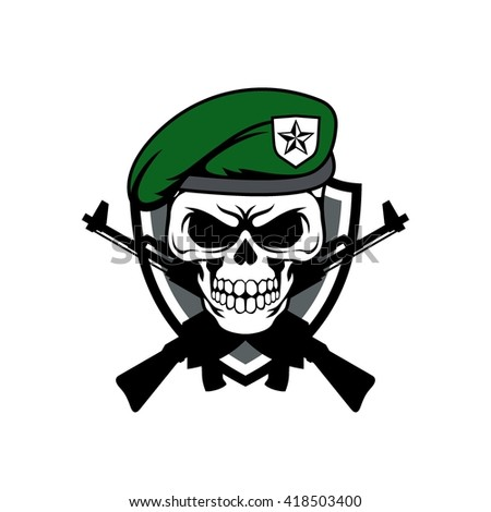 Vector Tattoo Skull Stock Vector 83421091 - Shutterstock