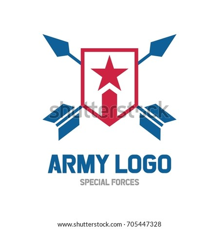 mountain star logo design template stock vector 501969058 shutterstock. Black Bedroom Furniture Sets. Home Design Ideas