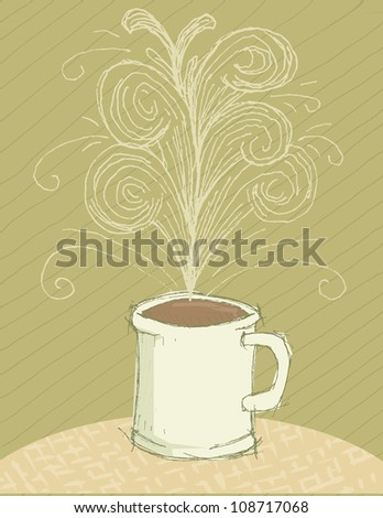 Aroma - stock vector