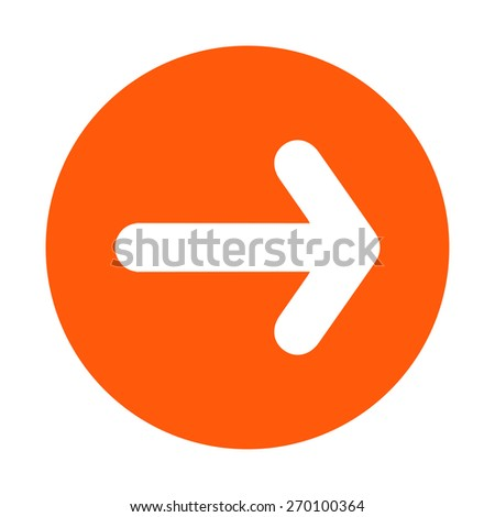 Arrow icon. - stock vector