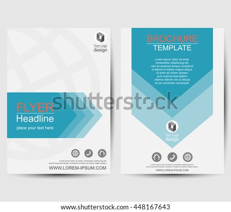 Annual report infographic template