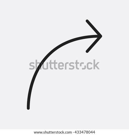 Arrow right Icon, Arrow right Icon Eps10, Arrow right Icon Vector, Arrow right Icon Eps, Arrow right Icon Jpg, Arrow right Icon, Arrow right Icon Flat, Arrow right Icon App, Arrow right Icon Web - stock vector
