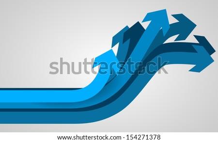 Arrow Vector - stock vector