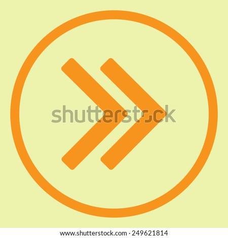 Arrow vector icon - stock vector