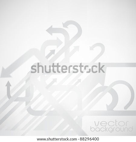 Arrows background vector - stock vector