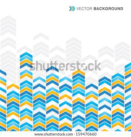 Arrows Backgrounds - stock vector