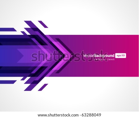 Arrows vector background. Eps 10 - stock vector