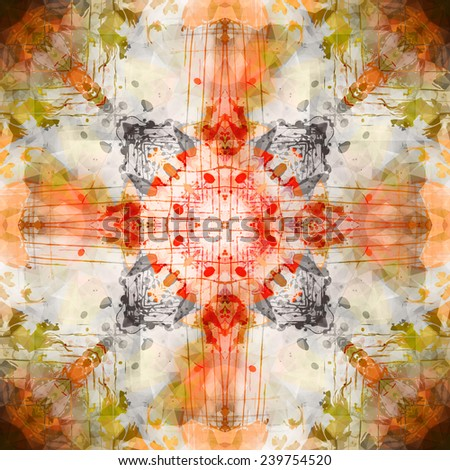 art abstract colorful background - stock vector