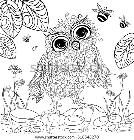 Art Color Therapy Anti Stress Coloring Stock Photo (Photo, Vector ...