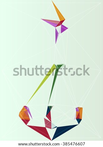 art background shape element color modern pattern