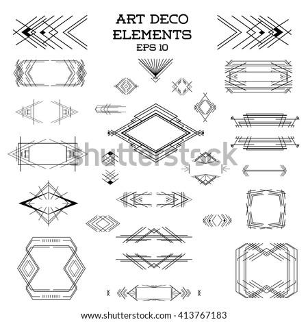 Artdeco stock photos royalty free images vectors for Element deco design