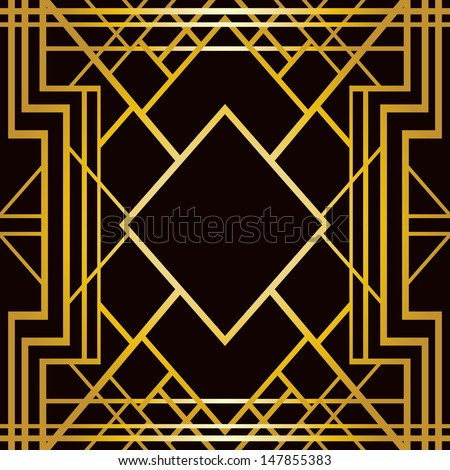 Art Deco Pattern Stock Images, Royalty-Free Images & Vectors ...