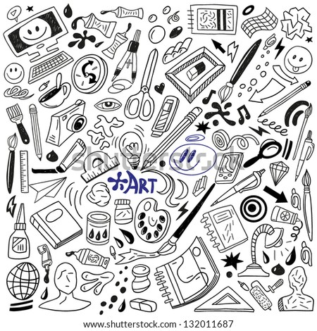Doodle art stock images royalty free images vectors for Doodle art free