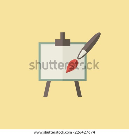 Art Icon - stock vector