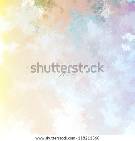 art water color background - stock vector