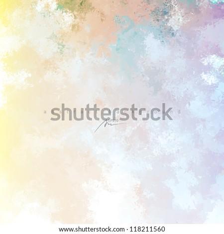 art water color background - stock vector