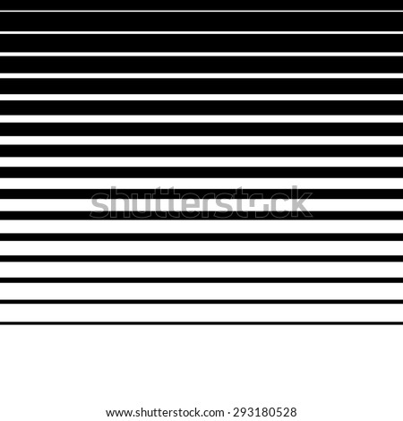 Artistic abstract vector. Parallel lines. Horizontally repeatable. - stock vector
