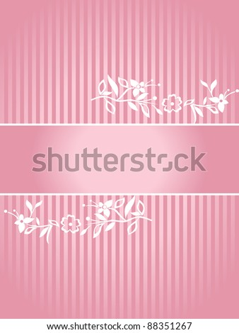 Artistic background for your text. - stock vector