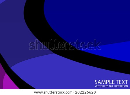 Artistic vector abstract background template illustration - Vector striped abstract background illustration  template - stock vector
