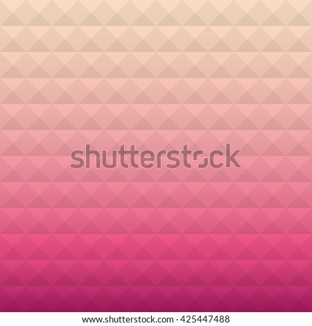 Artistic vector template. Colorful geometric texture. Vector design background. Artistic vintage pattern. Business cover. Vector light holiday card.  Pink background. Fashion background. - stock vector