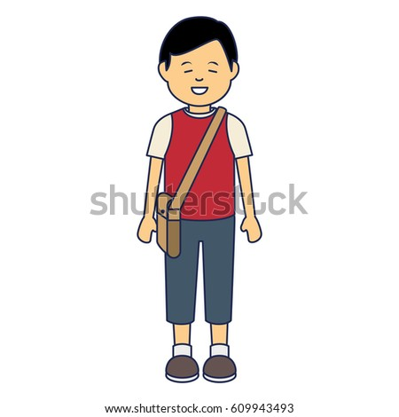 Picture of asian person clip art
