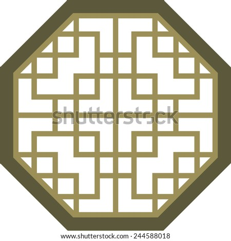 Chinese window stock photos images pictures shutterstock for Japanese window design