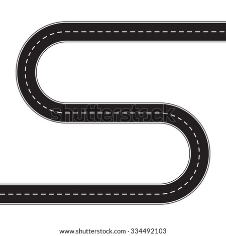 Winding Road Clipart Winding Road Car Stock...