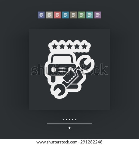 Assistance icon - stock vector