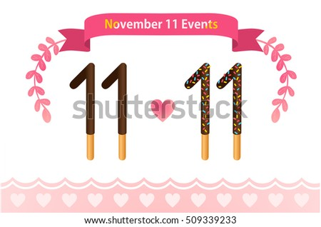 Assorted chocolate dipped biscuit sticks on white background