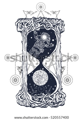 Mystical stock photos royalty free images vectors for Symbols of death tattoos