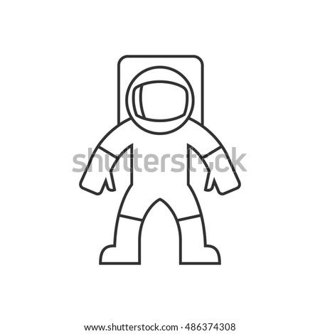 Astronaut Body Template