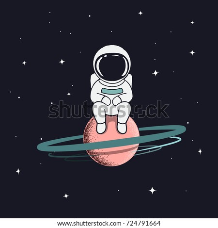 Childish stock images royalty free images vectors for Outer space poster design
