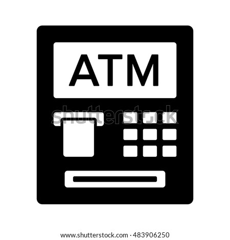 Atm Icon Stock Vector ...