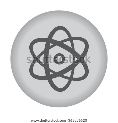 Atom icon. Vector eps 10.  - stock vector